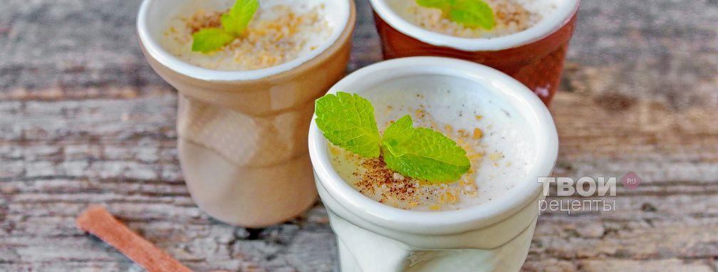 Обезжиренный йогурт - Рецепт