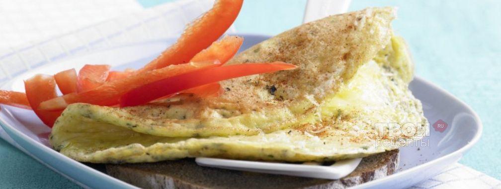 Омлет с сыром - Рецепт