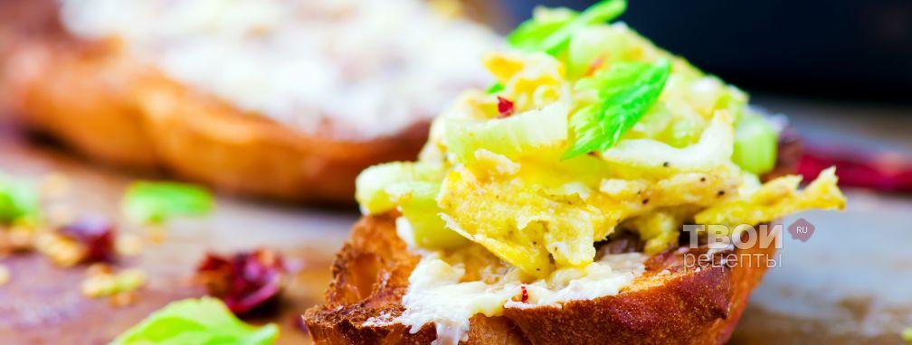 Омлет яичный  - Рецепт