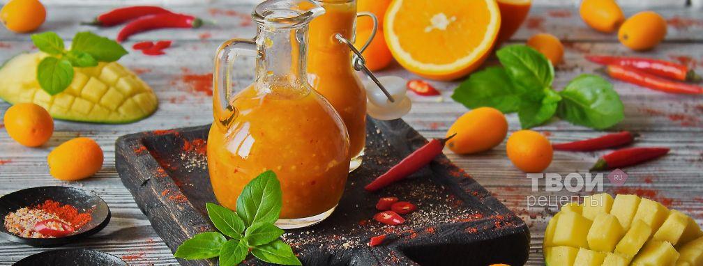 Острый соус с манго - Рецепт