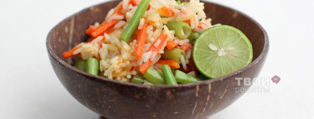 Овощной пулао - Рецепт
