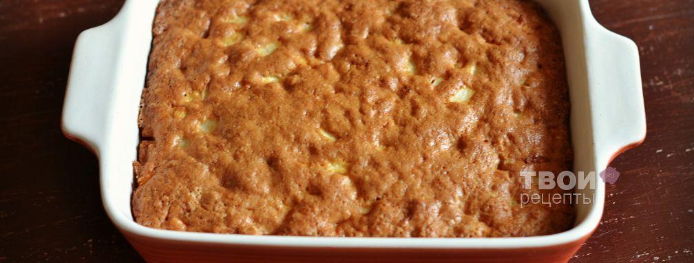 Овсяный пирог - Рецепт