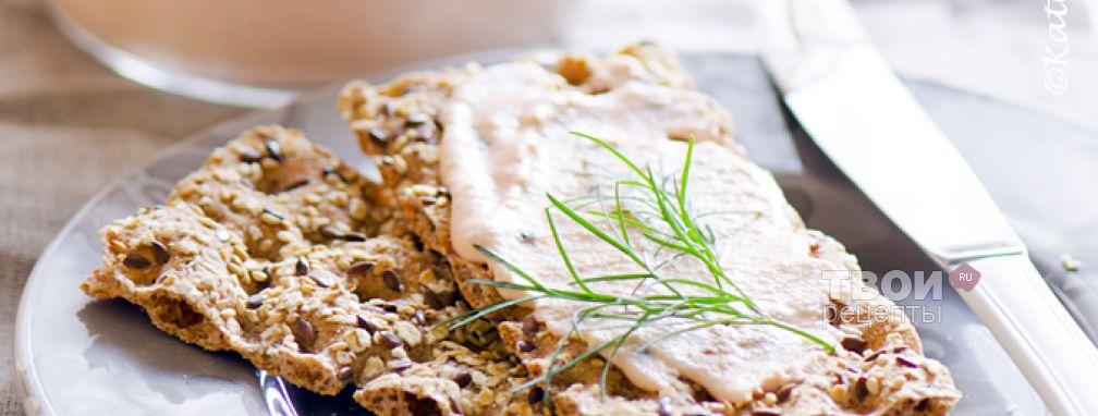 Паста из лосося - Рецепт