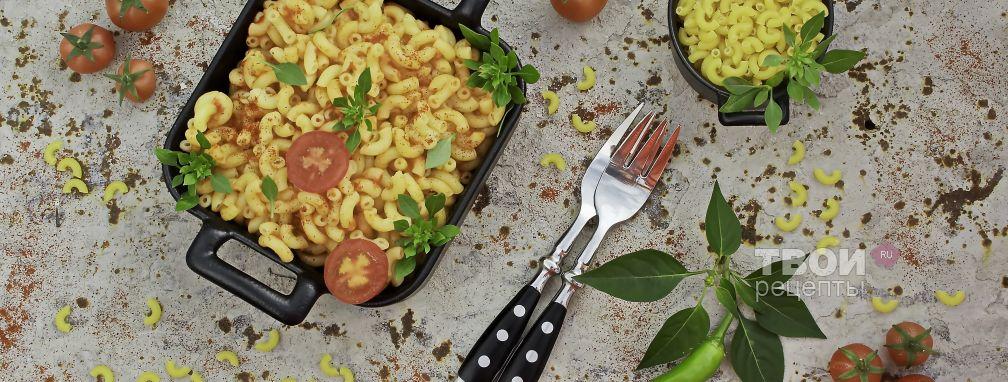 Паста в томатном соусе - Рецепт