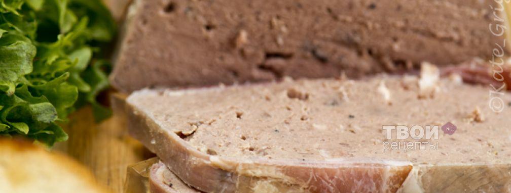 Pâté Grand Mere - Рецепт
