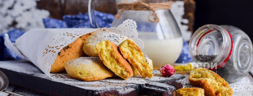 Печенье минутка - Рецепт
