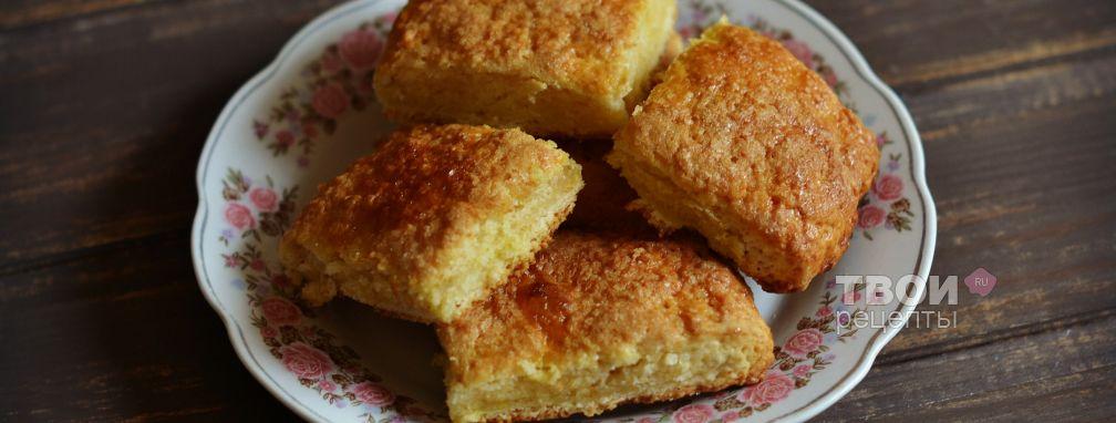 Печенье на сметане - Рецепт