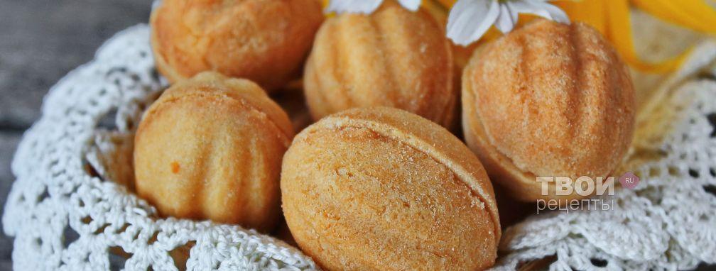 Печенье орешки - Рецепт