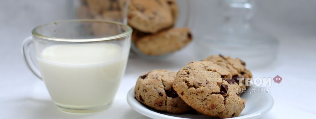 Печенье с гречневой мукой и шоколадом - Рецепт