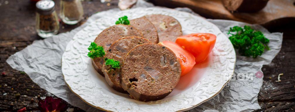 Печеночная колбаса - Рецепт