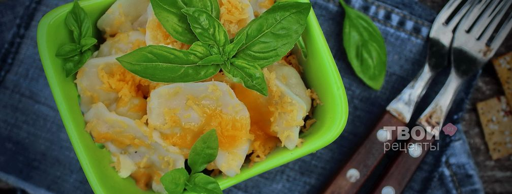 Пельмени в горшочках - Рецепт