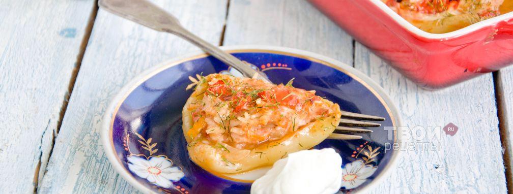 Болгарский перец фаршированный - Рецепт