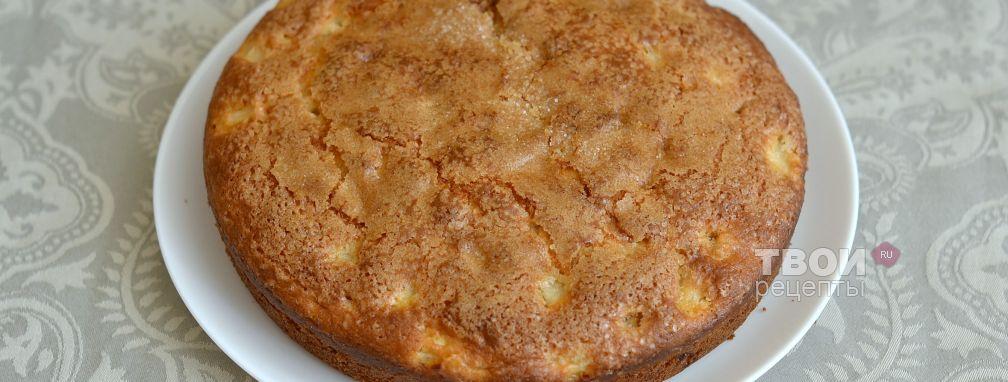 Пирог на кефире - вкусный рецепт с пошаговым фото: http://tvoirecepty.ru/recept/pirog-na-kefire