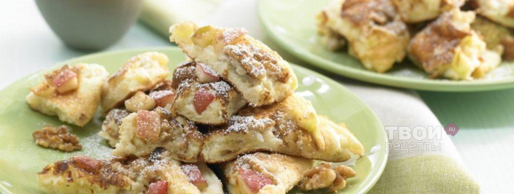 Пирог на сковороде - Рецепт