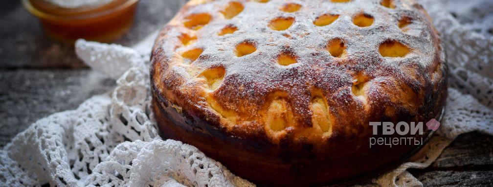 Пирог с абрикосовым вареньем - Рецепт