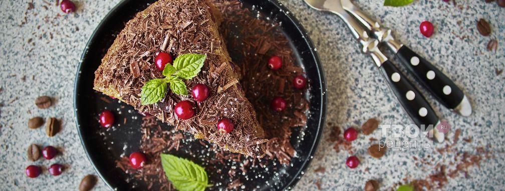 Пирог с брусникой - Рецепт