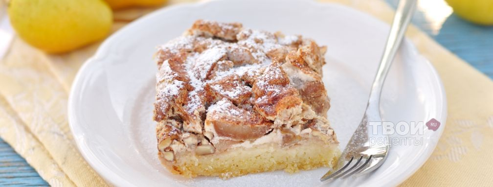 Пирог с грушами - Рецепт