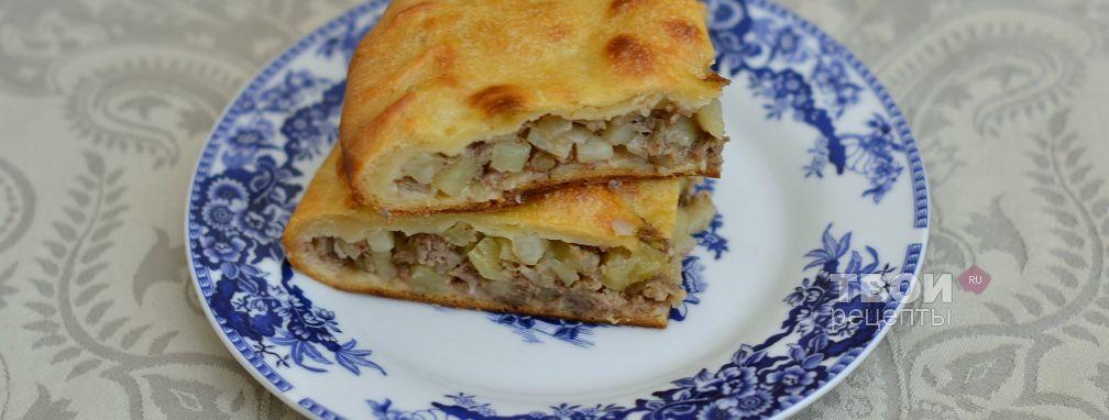 пирог из кефира с картошкой быстрый рецепт