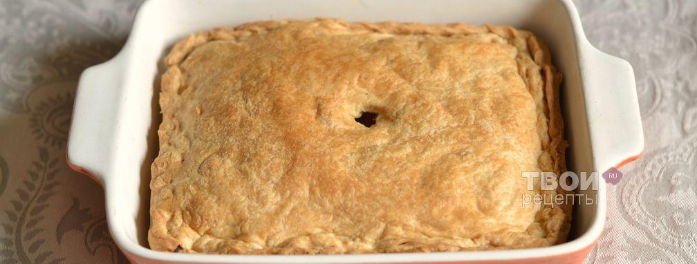 Пирог с консервой - Рецепт