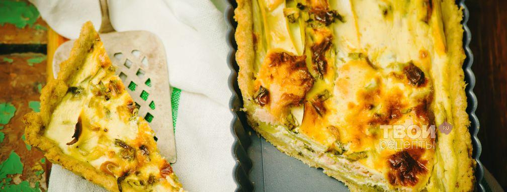 Пирог с луком - Рецепт