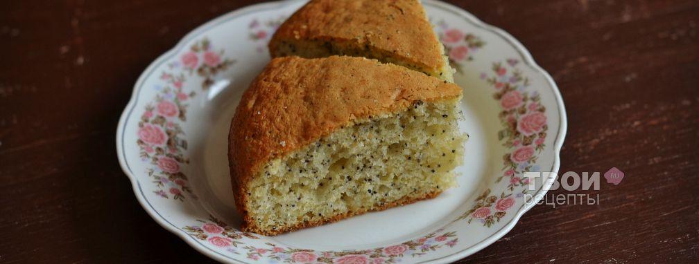 Пирог с маком - Рецепт