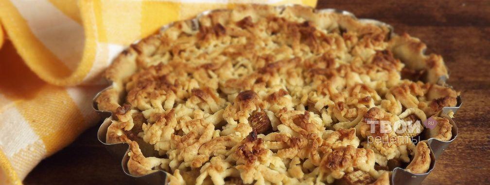 пирог из ревеня рецепты приготовления