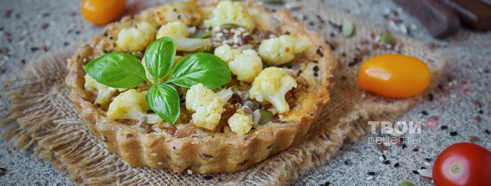 Пирог с цветной капустой - Рецепт