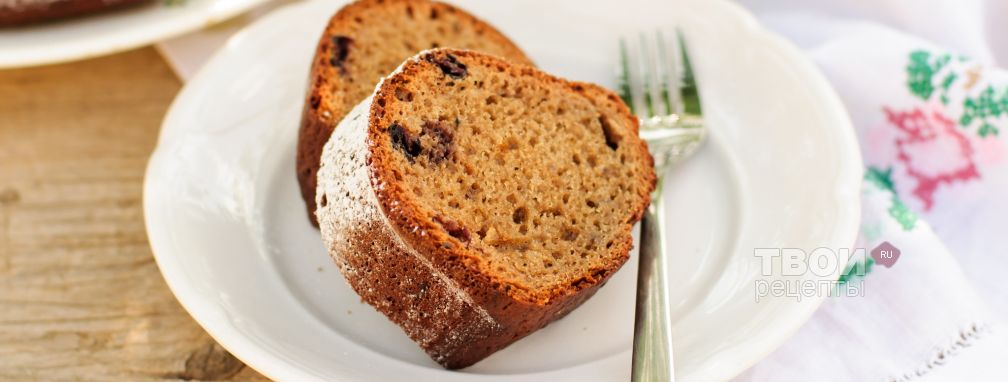 Пирог с вареньем - Рецепт