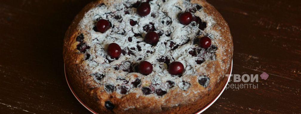 Пирог с вишней - Рецепт