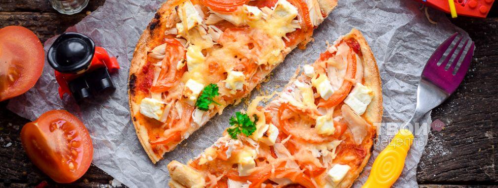 Пицца детская - Рецепт