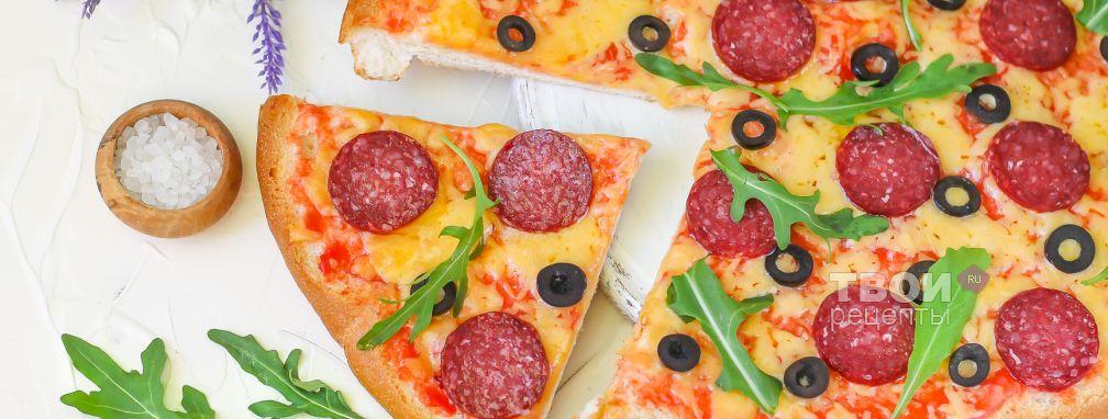 Пицца-хлеб - Рецепт
