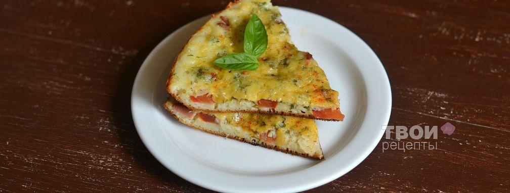 Пицца на сковороде - Рецепт