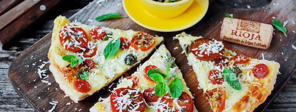 Пицца Пепперони - Рецепт