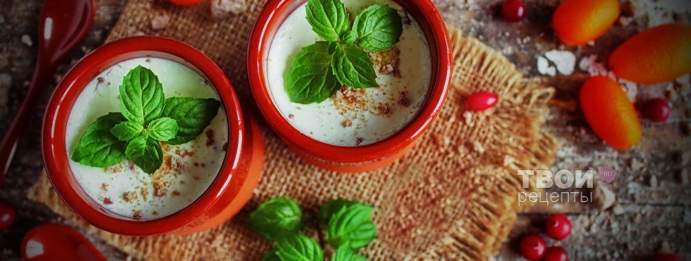 Полезный йогурт - Рецепт
