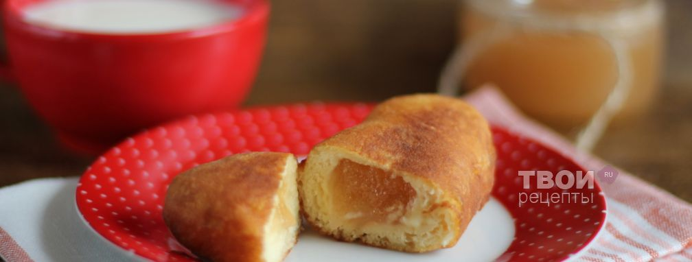 Пончики с повидлом - Рецепт
