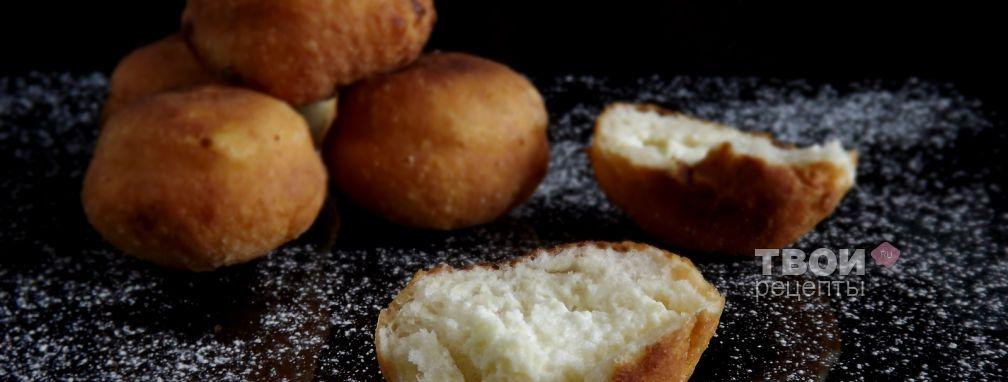 Пончики с творогом - Рецепт