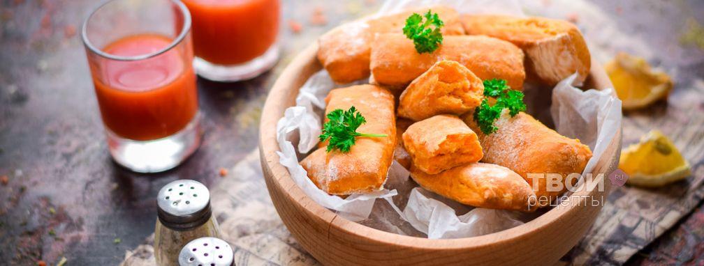 Постное томатное печенье - Рецепт