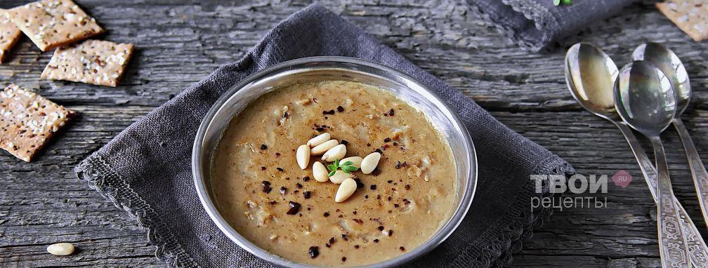 Постный грибной суп - Рецепт