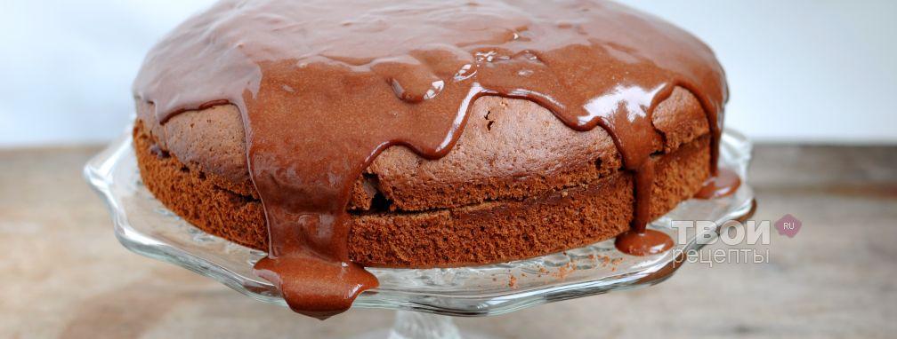 Простой шоколадный пирог - Рецепт