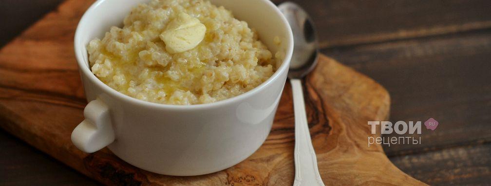 Пшеничная каша на молоке - Рецепт