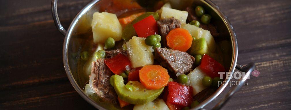 Рагу с говядиной - Рецепт