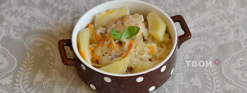 Рагу с квашеной капустой - Рецепт