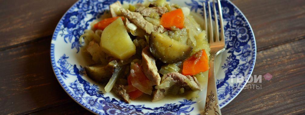 Рагу с мясом в мультиварке - Рецепт