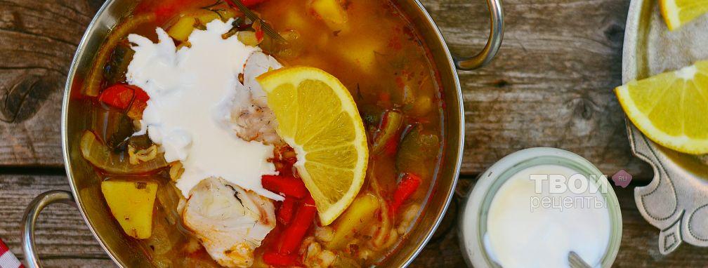 Рассольник с рисом и рыбой - Рецепт