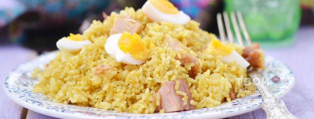 Рис на сковороде - Рецепт