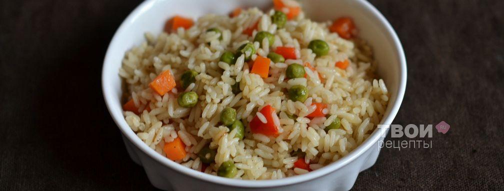 Рис с овощами в мультиварке - Рецепт