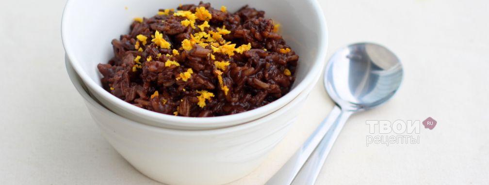 Рисовая каша с шоколадом - Рецепт