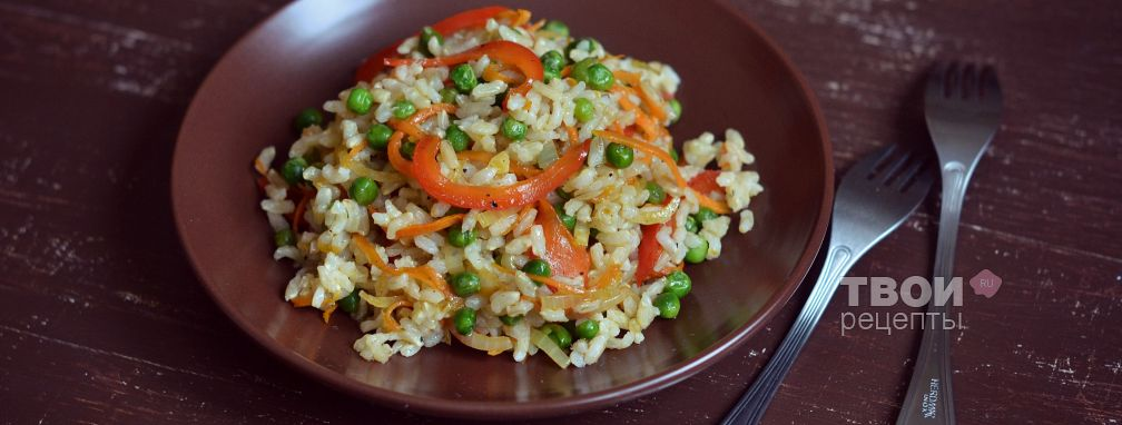 Рисовое соте в азиатском стиле - Рецепт