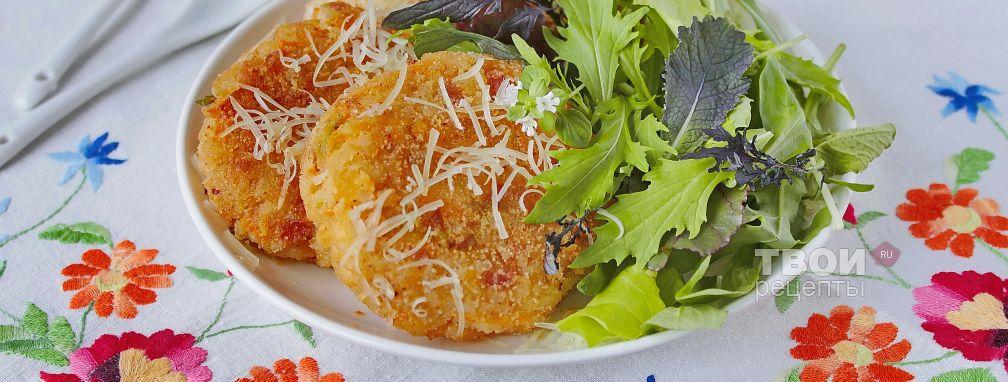 Рисовые биточки - Рецепт
