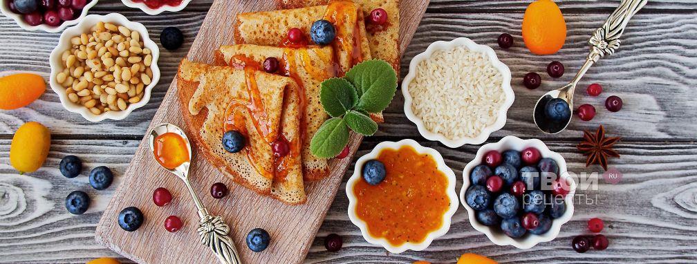 Рисовые блины - Рецепт